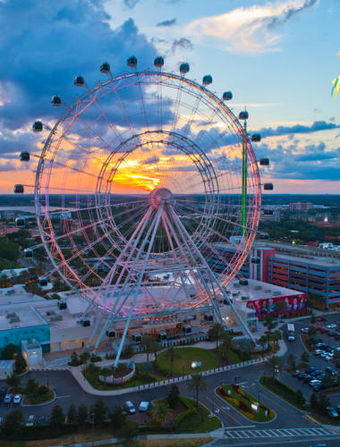 ICON Park Florida Eye Farris Wheel
