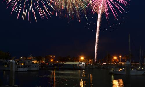 4th of July Fireworks Sanford-Florida