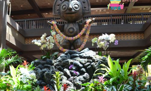 Disney Polynesian Resort Orlando Florida Entrance
