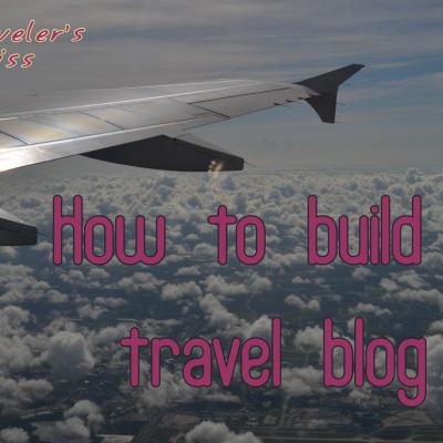 How to build a Travel Blog Website