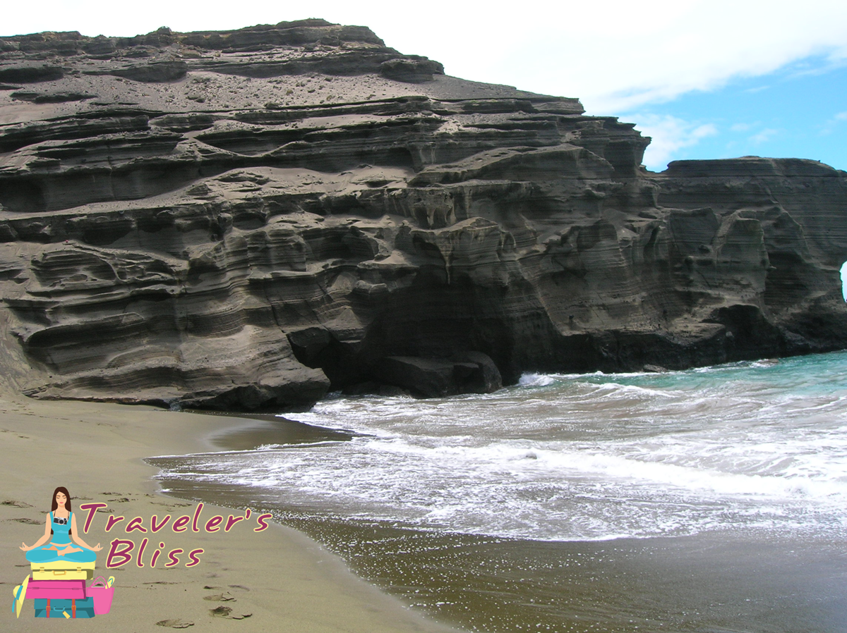 Kona Hawaii Green Sand Beach